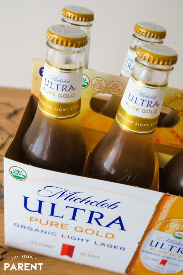 Michelob ULTRA Pure Gold low carb beer