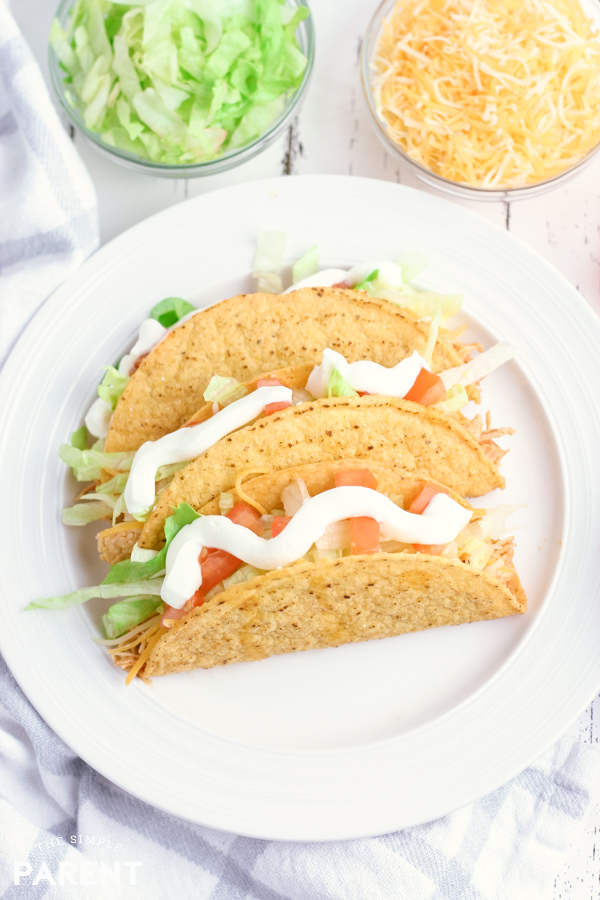 Pulled Chicken Tacos Crock Pot Recipe