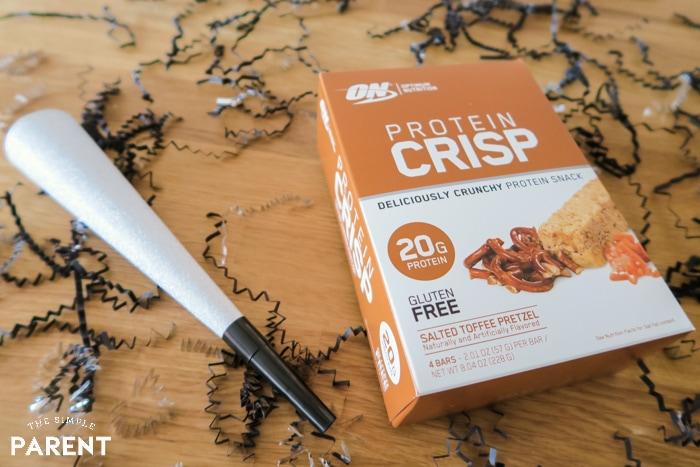 Optimum Nutrition Protein Crisp Bars box