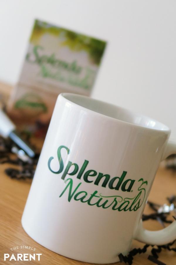 Splenda Naturals 100% Natural Sweetener and mug