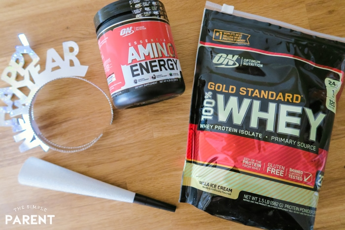 Optimum Nutrition Amino Energy and Gold Standard Whey
