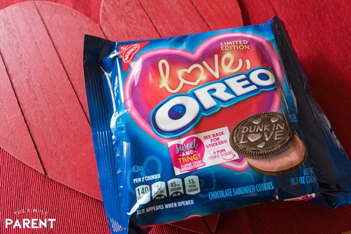 Limited Edition LOVE Oreo Cookies for Valentine's Day