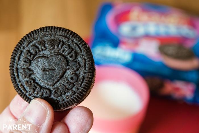 Valentine's Day LOVE OREO cookies