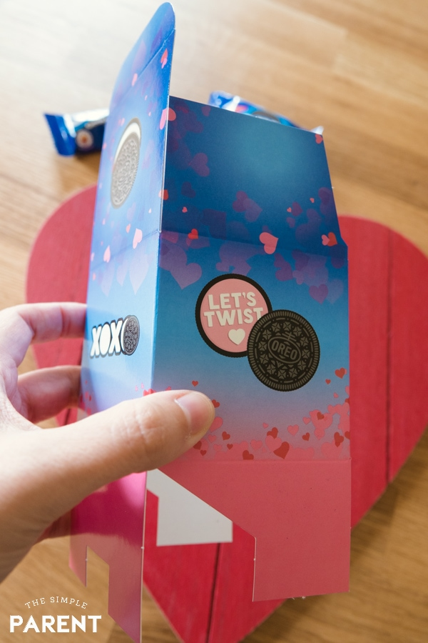 Valentine's Day OREO kit boxes
