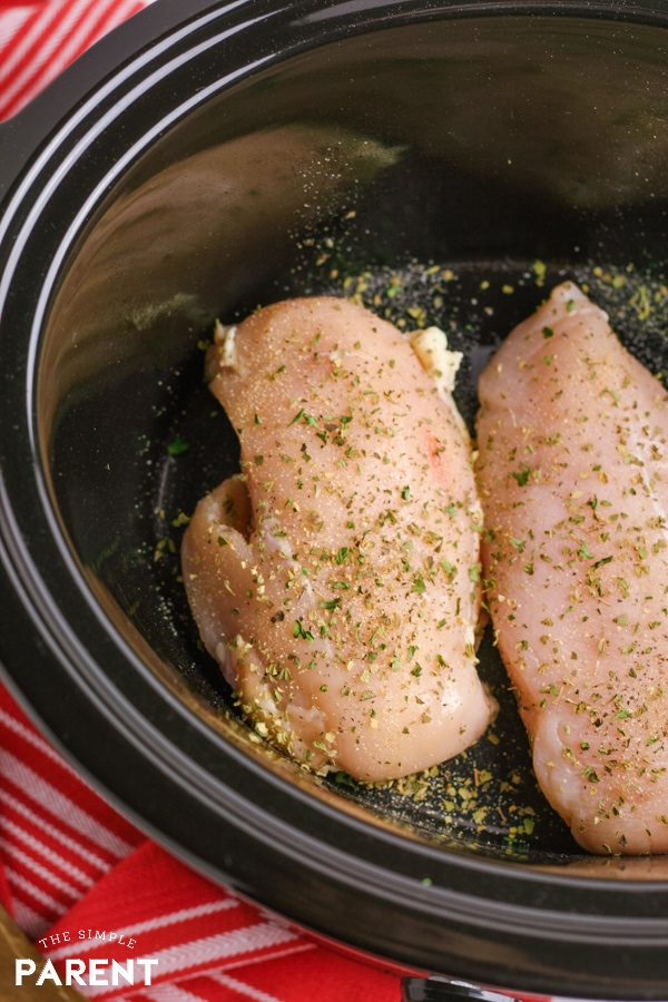 Cooking chicken in the Crock Pot
