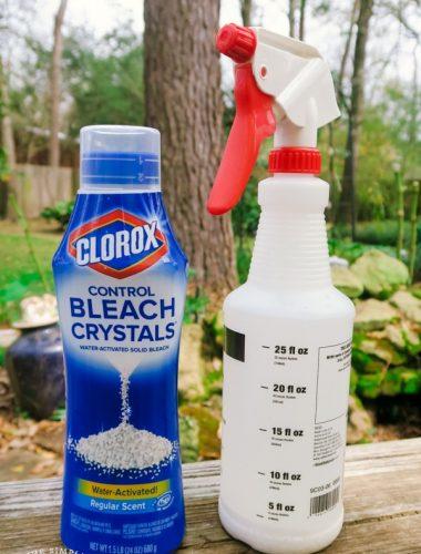 Clorox Bleach Uses in a Spray Bottle