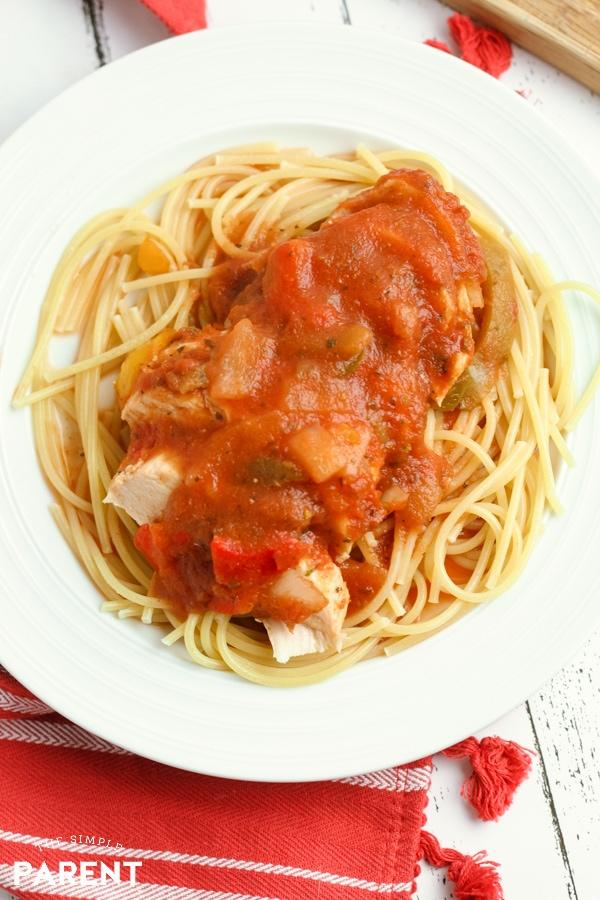 Crockpot Chicken Cacciatore Recipe