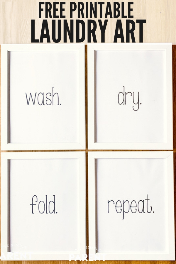 Free Laundry Room Printables Word Art and Decor Signs