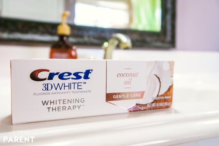 Crest 3D White Whitening Therapy with Coconut Oil
