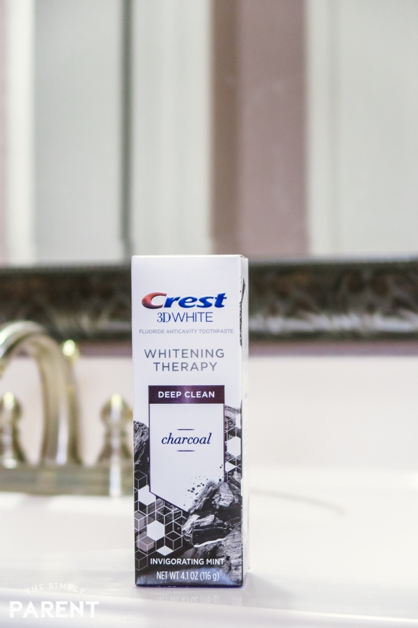 Crest 3D White Whitening Therapy with Charcoal