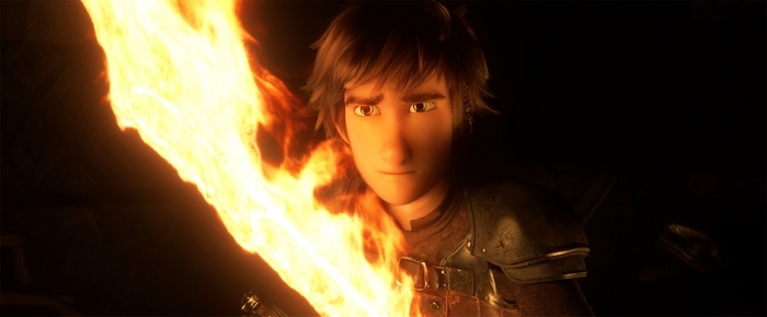 Hiccup in How to Train Your Dragon 3