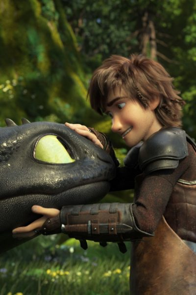 Hiccup and Toothless in How To Train Your Dragon: The Hidden World