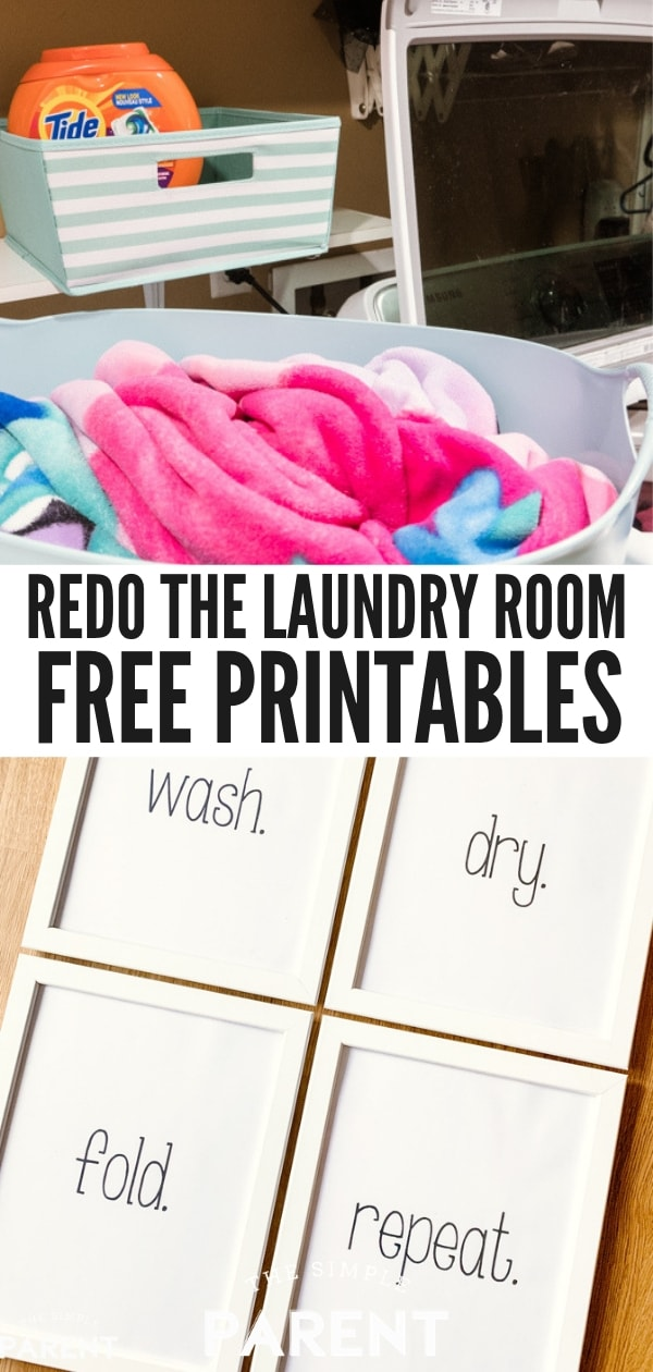 Free Laundry Room Printables for Home