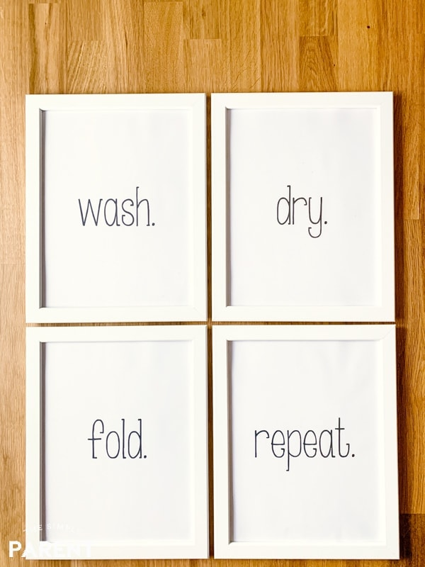 photo relating to Free Printable Laundry Room Signs referred to as Absolutely free Laundry Area Printables Effortless Laundry Strategies! The