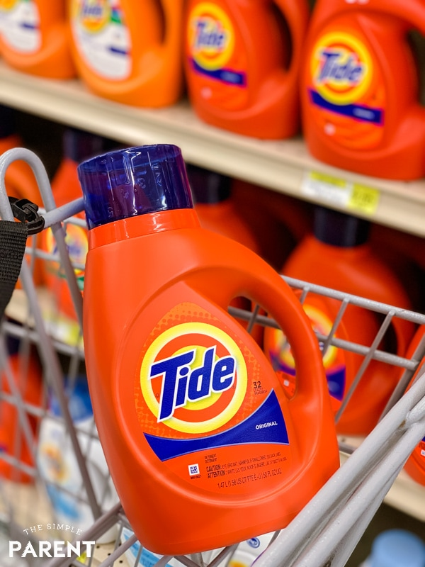 Liquid Tide Laundry Detergent