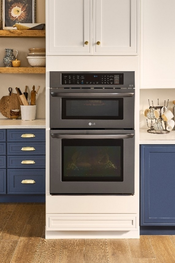 LG Combination Double Wall Oven from Best Buy