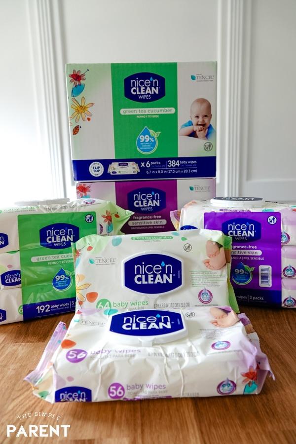 Nice 'n Clean Baby Wipes