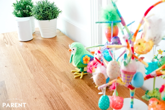 Easter decor and ibi for the best way to store digital photos