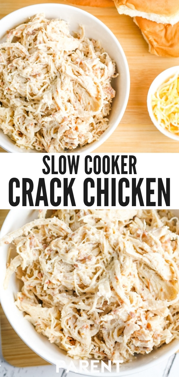 Slow Cooker Crack Chicken Recipe