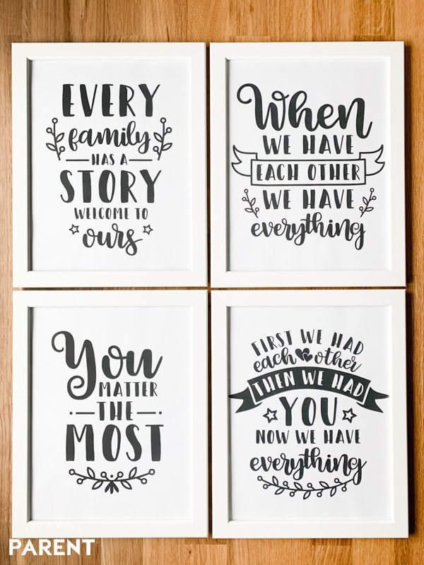 image relating to Free Printable Nursery Art referred to as No cost Little one Nursery Artwork Printables in the direction of Really encourage The Uncomplicated Mother or father