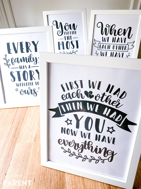 Free Baby Nursery Printables to Decorate With