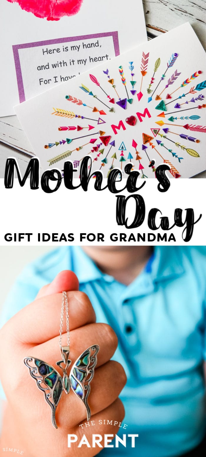 Mother's Day Gift Ideas for Grandmothers