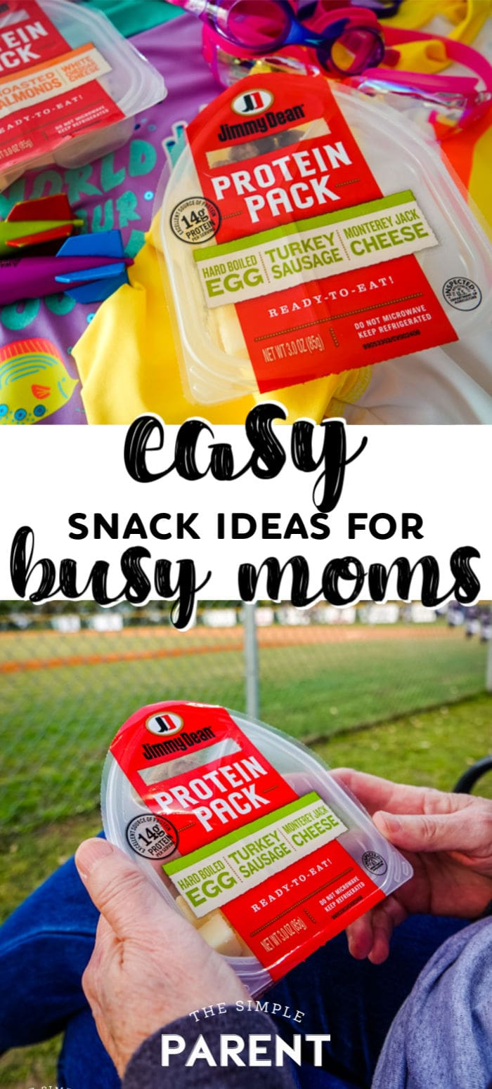 Easy Snack Ideas for Busy Moms