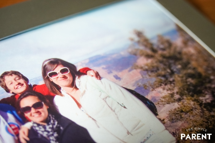 Photo of siblings at the Grand Canyon sent in to be digitized by Legacybox