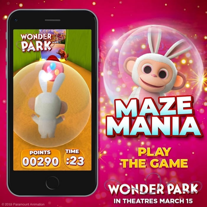 Wonder Park Movie Games