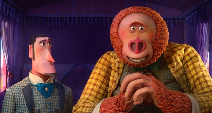 Sir Lionel Frost and Mr. Link from the Missing Link movie