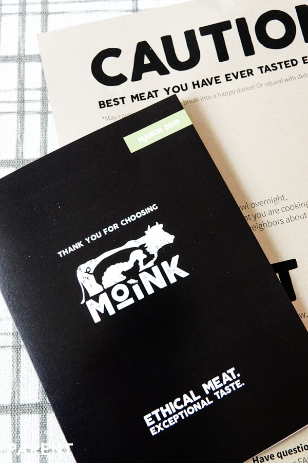 Moink Meat Subscription Box information