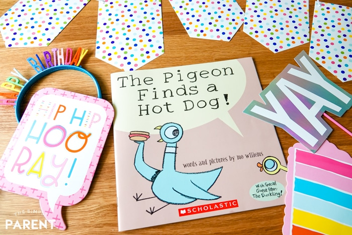 Anniversary of Pigeon book series by Mo Willems