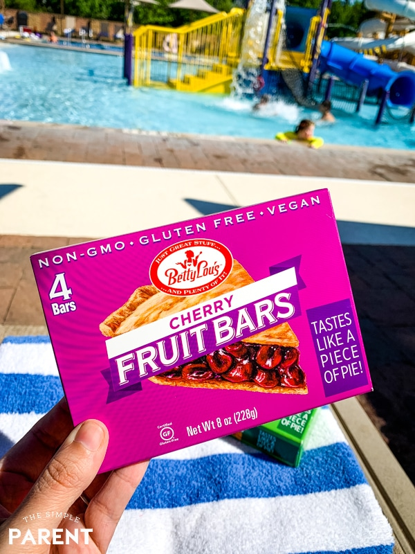 Betty Lou's Fruit Bars cherry flavor