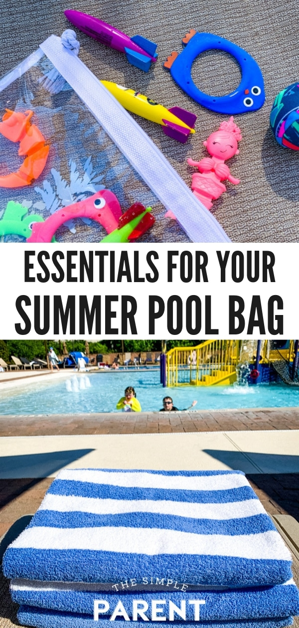 Pool snacks and other pool bag essentials