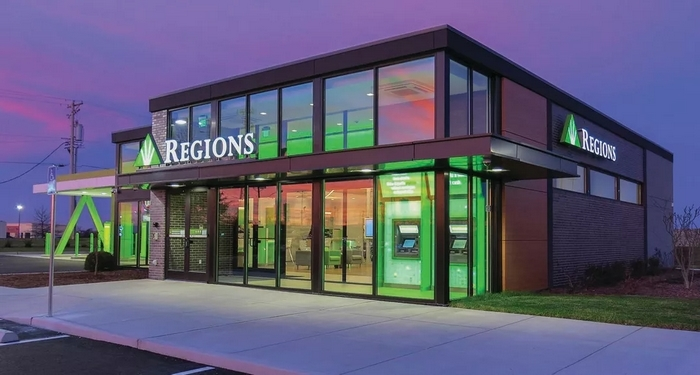 New Regions Bank branches
