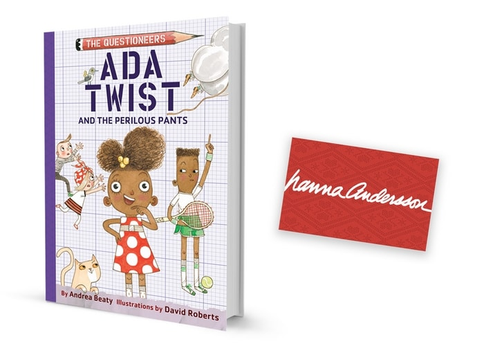 Questioneers Ada Twist Giveaway Prize