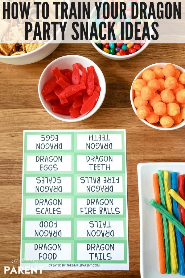 How To Train Your Dragon Party Snack Food