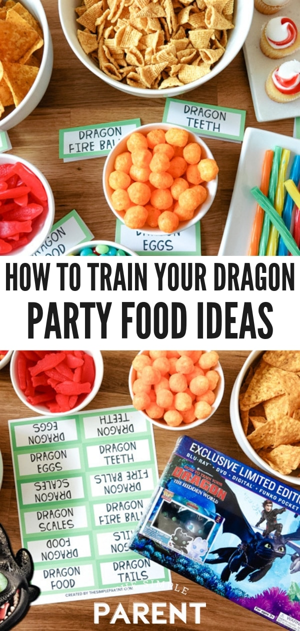 How To Train Your Dragon Party Food Ideas