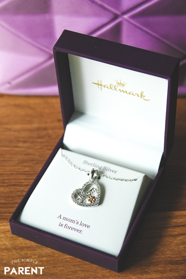 Mom Heart Pendant Nacklace from Hallmark Jewelry collection