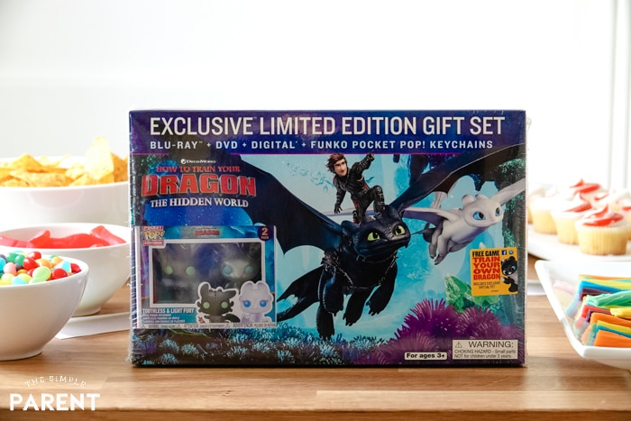 How To Train Your Dragon Walmart Exclusive DVD set