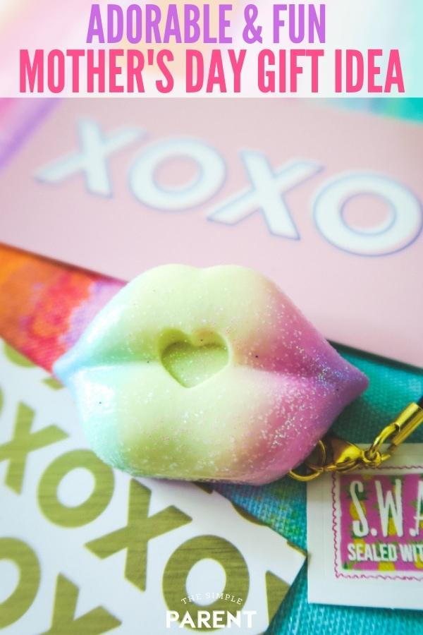 SWAK Kissable Keychains as a Mother's Day Gift Idea