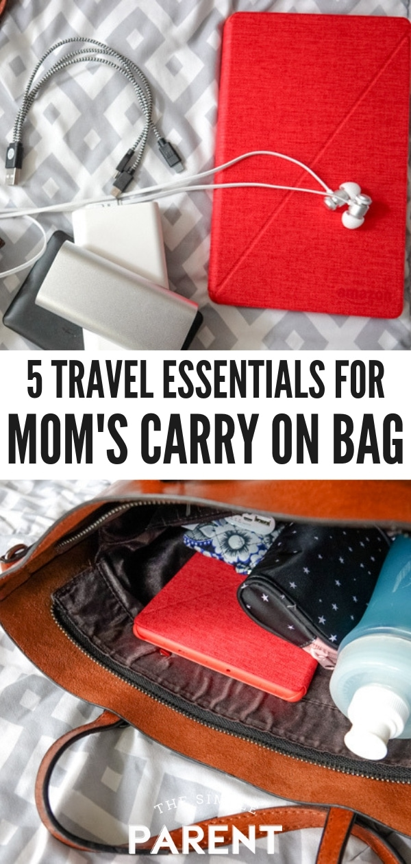 Carry On bag must-haves including electronics, snacks, and more