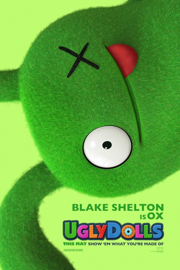 UglyDolls Ox character Movie Poster
