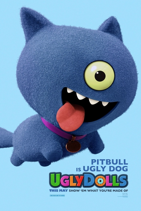 UglyDolls Ugly Dog Movie Poster