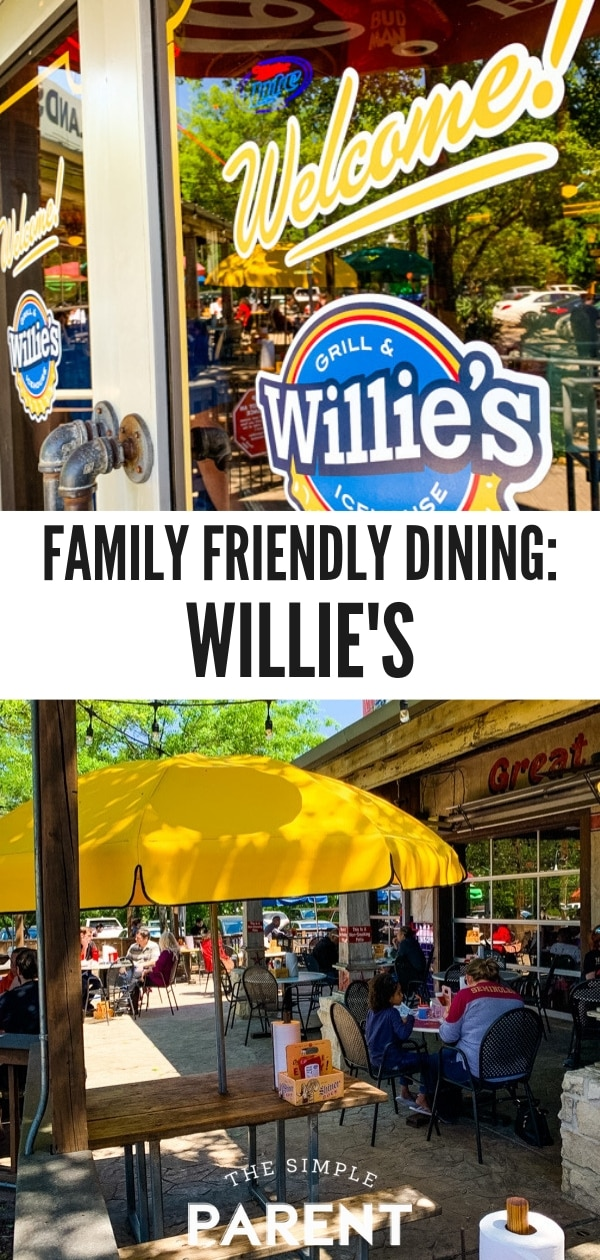 Family Friendly Dining at Willie's Grill and Icehouse