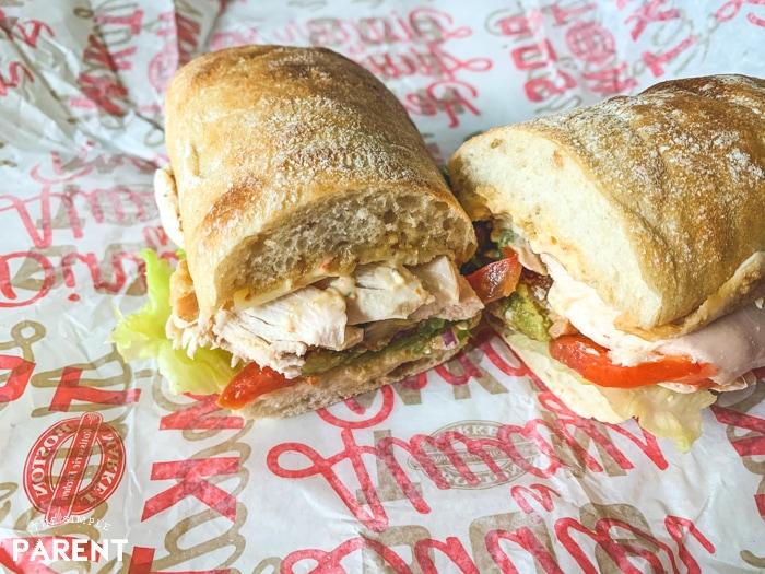 Boston Market Southwest Chicken BLT sandwich