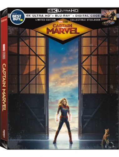 Captain Marvel Steelbook at Best Buy