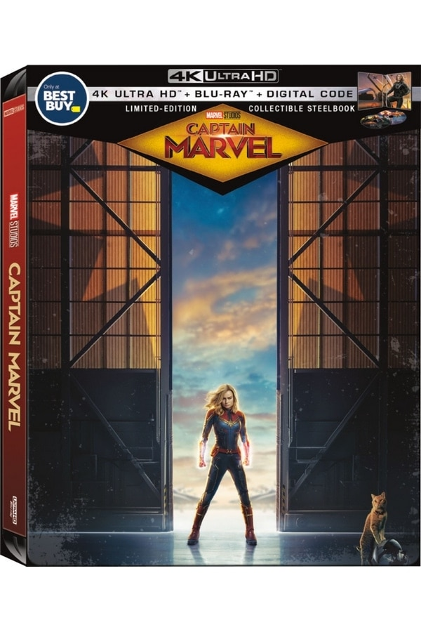 Captain Marvel Steelbook at Best Buy
