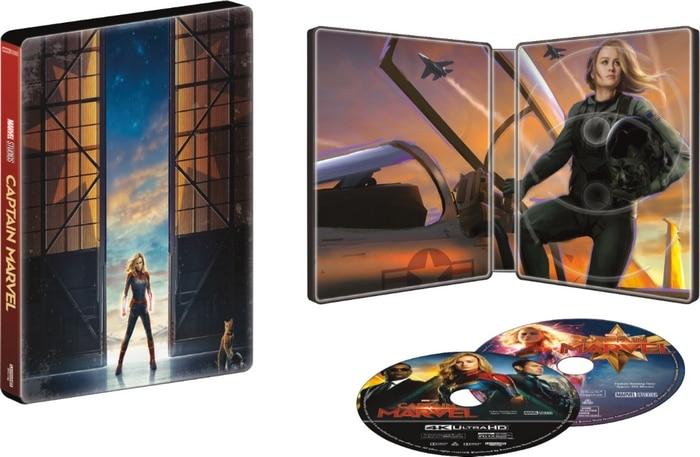 Collectible Captain Marvel Steelbook