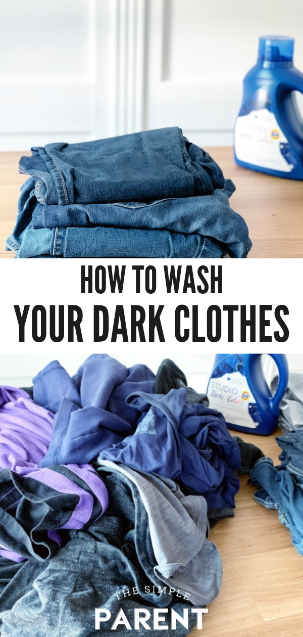 Tips for How to Wash Dark Clothes in the Laundry